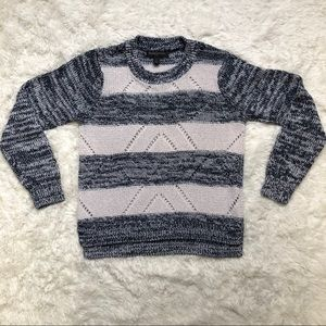 🌸Banana Republic Blue and White Striped Sweater S